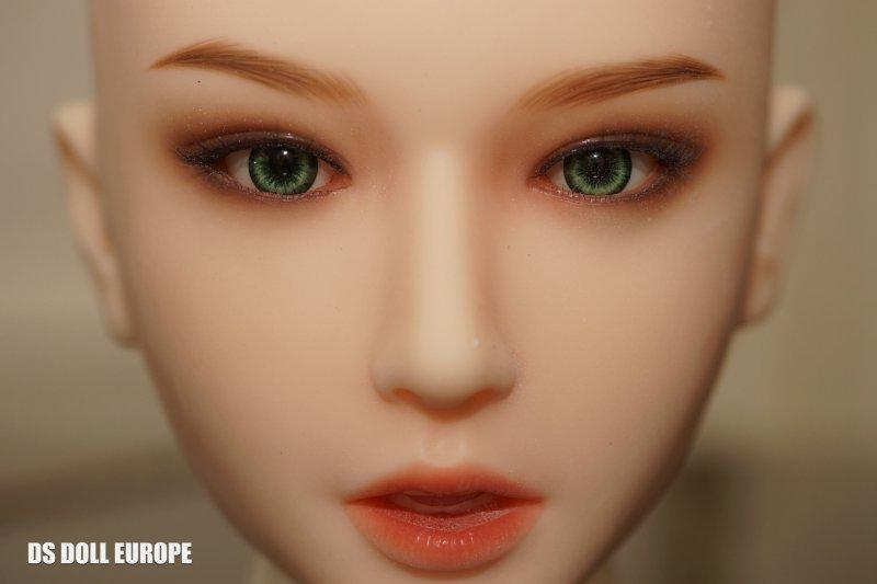 Grüne Augen und Hautton LPink - Doll Sweet sKayla Kopf