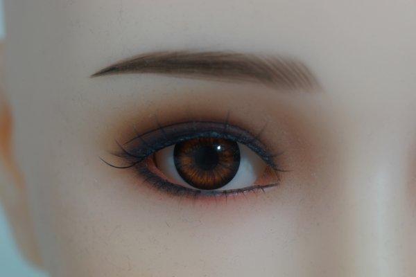 Brown eye color