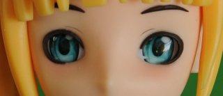 Doll Sweet Grüne Cartoon Augen
