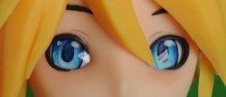 Doll Sweet Blaue Cartoon Augen